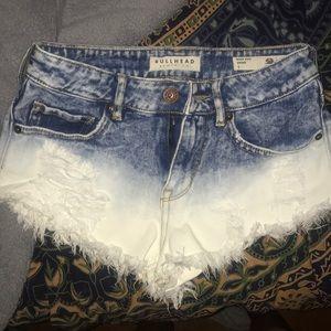 PacSun Ombré Jean Shorts